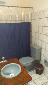 Um banheiro em Eco Pousada Filhos do Vento