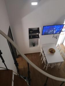 A television and/or entertainment center at CasaDiNova2