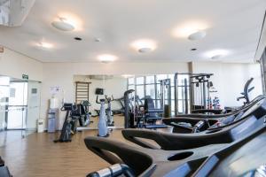 The fitness center and/or fitness facilities at Transamerica Prestige - Beach Class International (Boa Viagem)