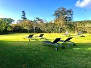 A garden outside The Lince Azores Great Hotel