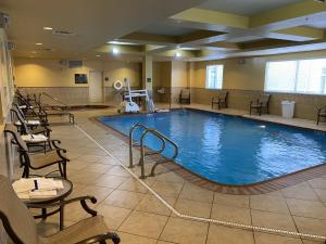 The swimming pool at or near Homewood Suites by Hilton Decatur-Forsyth