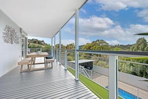 A balcony or terrace at Peninsula Retreat