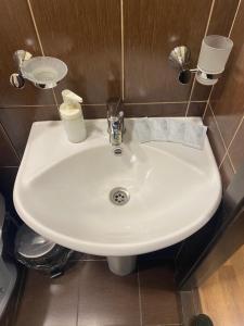 Ванная комната в Hotel Home