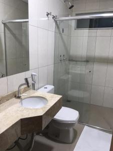 A bathroom at Master Hotel