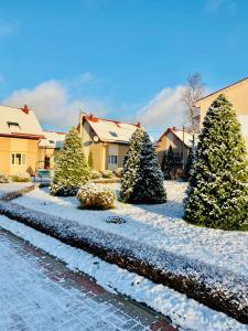 База отдыха Розовая Дача зимой
