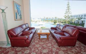 A seating area at Mahdia Palace