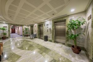 O saguão ou recepção de Al Ghufran Safwah Hotel Makkah