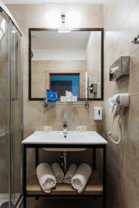 A bathroom at Hotel 32 Kraków Old Town