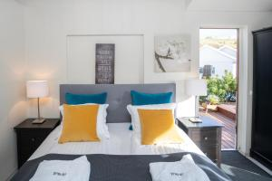 Un ou plusieurs lits dans un hébergement de l'établissement Frost and Fire Hotel