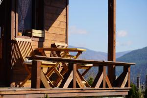 A balcony or terrace at Hotel Orbel