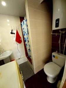 Ванная комната в Коттедж Лавина