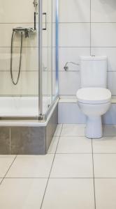Kúpeľňa v ubytovaní Cybulskiego Guest Rooms