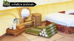 Un ou plusieurs lits dans un hébergement de l'établissement Li-su Camp at Samoneng