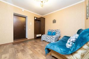 Гостиная зона в Apartment on Permyakova-Shirotnoi