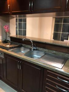 A cozinha ou cozinha compacta de KAEC-Coast Oasis 1