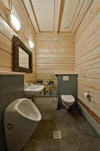Ванная комната в Saulės Slėnis