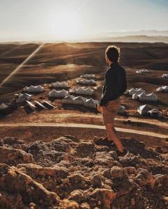 Desert agafay camping