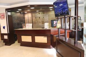Лобби или стойка регистрации в Silken Insitu Eurotel Andorra