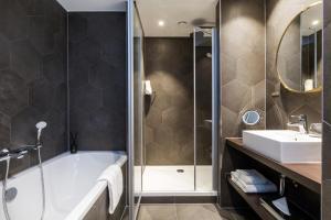 A bathroom at The James Rotterdam