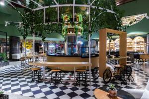 Loungen eller baren på Dusit Thani Dubai