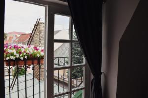 Ein Balkon oder eine Terrasse in der Unterkunft Penzion U Johanky