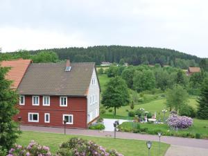 Blick auf Luxurious Apartment in Buntenbock near Ski Area aus der Vogelperspektive
