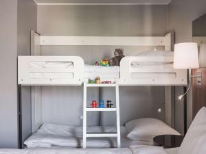 Letto o letti a castello in una camera di Radisson Blu Arlandia Hotel, Stockholm-Arlanda