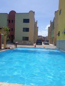 A piscina localizada em Apartmento Aquiraz - Crystal Park Flat ou nos arredores