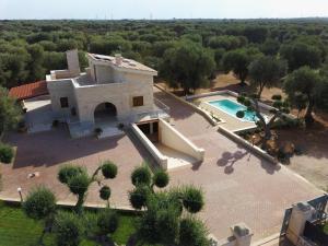 Vista aerea di Resort Vulcano
