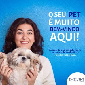 Pet or pets staying with guests at Executive Hotel