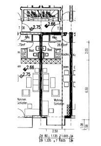 The floor plan of Alles drin!