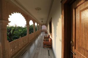 A balcony or terrace at Hotel Sunbird