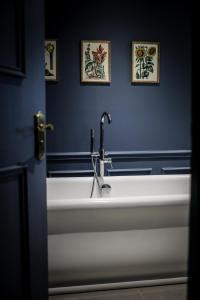 A bathroom at The Angel Inn, Petworth