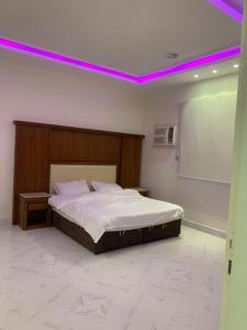 Cama ou camas em um quarto em فندق النخيل السليل