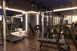 Het fitnesscentrum en/of fitnessfaciliteiten van Xheko Imperial Luxury Boutique Hotel