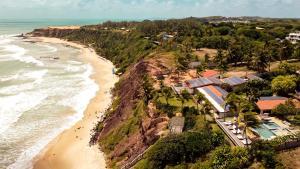 Uma vista aérea de Hotel da Pipa