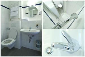 A bathroom at a&o München Laim