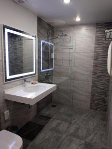 Ванная комната в Гостиница Премьер