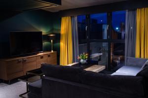 A seating area at Hotel Du Vin Stratford