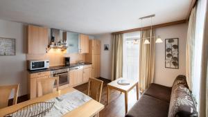 Küche/Küchenzeile in der Unterkunft Ferienhof Schöne Aussicht