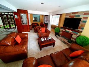 A seating area at Vita Hoteles Colca