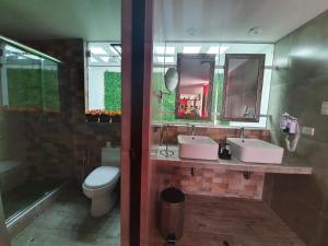 A bathroom at Vita Hoteles Colca