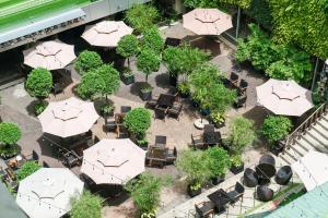 A bird's-eye view of Rex Hotel