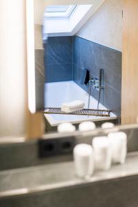 A bathroom at Staudacherhof History & Lifestyle