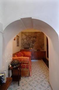 Area soggiorno di Casa Bouganville