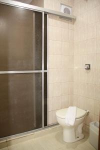 A bathroom at Hotel Foz do Iguaçu