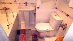 Ванная комната в Апартаменты Новоалексеевская
