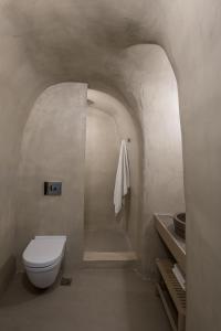A bathroom at Enigma Suites