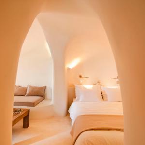 Vuode tai vuoteita majoituspaikassa Kapari Natural Resort