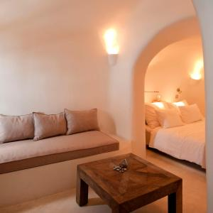 Oleskelutila majoituspaikassa Kapari Natural Resort